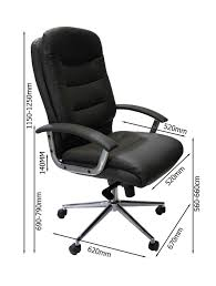 Leather Office Chair Alphason Empire Executive Office Chair Aoc8218blk 121 Office Furniture