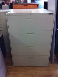 Steel Lateral File Cabinet Used Hon Industries Steel Lateral File