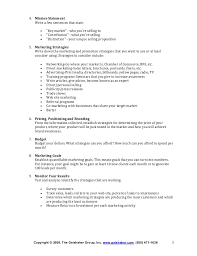 Example Of A Marketing Resume How To Write A Marketing Plan
