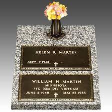 bronze grave markers bronze grave marker top vase