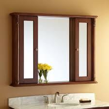 Espresso Bathroom Mirrors Lb Linen Tower 360 Degree Floor Cabinet With Mirror White 3 Tier