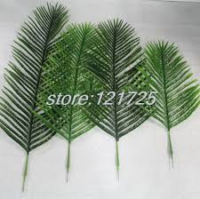 diy artificial palm tree plant leaf branches foliage green