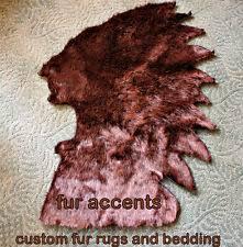 bear hide rug ebay