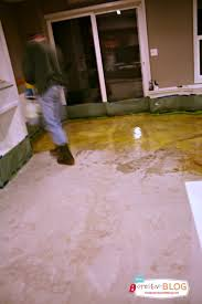 Basement Floor Stain by Staining Your Concrete Floor Today U0027s Creative Life