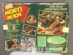 mickey u0027s ski slope by mr christmas