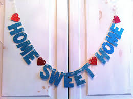 Home Sweet Home Decorations by Home Sweet Home Banner Decoration Photo Prop