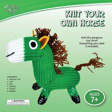 knit your own horse by craft for kids u2013 daves deals