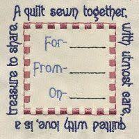 Wedding Quilt Sayings 16 Best Labels Images On Pinterest Quilt Labels Quilting Quotes