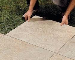 l altra pietra 盪 posa a secco in appoggio su ghiaia sabbia o