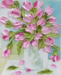 create your own tulip oil painting to match your decor your