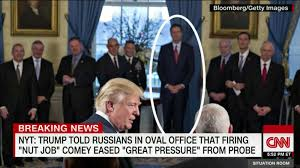 Oval Office Drapes Friend James Comey Tried To Avoid Trump Cnn Video