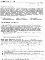 Hr Executive Resume Sample by Customer Service Skills Examples For Resume Resume Examples