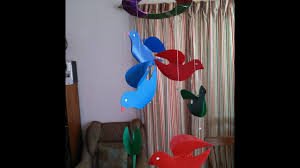 diy how to make birds out of plastic sheets for home decor