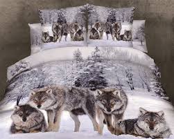 3d Print Bed Sheets Online India Online Buy Wholesale Wolf Bedding From China Wolf Bedding
