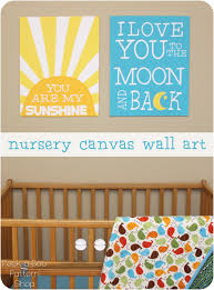 You Are My Sunshine Wall Decor Nursery Canvas Wall Art Peek A Boo Pages Sew Something Special