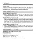 Sample Student Nurse Resume by Example Student Nurse Resume Summary Objective Example Nursing