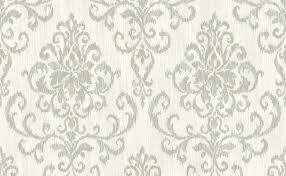 classic damask wallpaper in grey and white design by seabrook