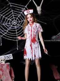bloody nurse cosplay halloween costume fancy costume mall