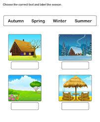 weather and seasons worksheets worksheets