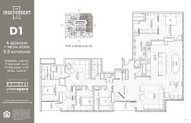 Skyscraper Floor Plans by Residences The Independent
