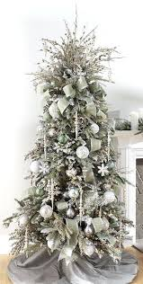 tree white and silver amodiosflowershop