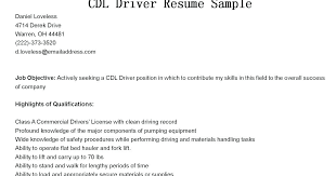100 truck driver resume templates free company driver resume
