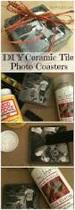 diy ceramic tile photo coasters photo coasters creative gifts