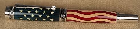 Us Flag 1860 Patriotic Pens
