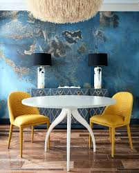 Blue Upholstered Dining Chairs Yellow Upholstered Dining Chair With Regard To Motivate