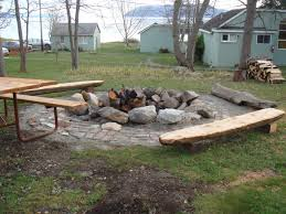 bench wooden fire pit bench diy fire pit bench design ideas
