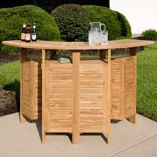 Teak Patio Furniture by Teak Outdoor Folding Bar Outdoor