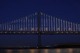 Bay Bridge Lights Digital Drivel 4k Tv Is Equivelent To Bay Bridge Lights I Can