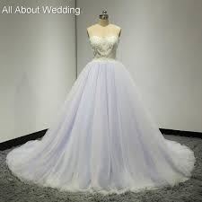 sweetheart colored wedding dresses purple pink blue tulle layers