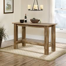 Height Of End Table by Boone Mountain Counter Height Dinette Table 416698 Sauder