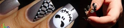 halloween nail art designs 25 spooky examples multy shades