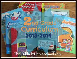 the unlikely homeschool 2nd grade homeschool curriculum 2013 2014