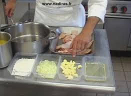 ac versailles cuisine fricassée de volaille à l ancienne exemple le poulet webtv