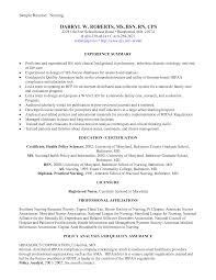 Writing A Nursing Resume Objective Sample Nursing Resume For New Graduate Resume For Your Job