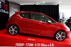 peugeot 208 gti end of polo gti u0027s reign u2026the peugeot 208 gti is here u2013 benautobahn