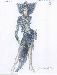 behind the costumes on cher u0027s d2k tour