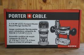 Fine Woodworking Compact Router Review by Porter Cable Compact Router Combo Kit Review 450pk Tools In