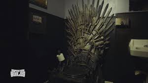 game of thrones inspired iron throne toilet u2014 geektyrant