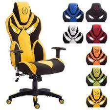 chaise de bureau racing clp fauteuil de bureau racing fangio en tissu capacité de charge