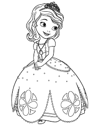 Best Coloring Pages Princess Coloring Pages Free 373 Printable Princess Coloring Pages
