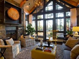 Rustic Living Rooms by Living Room Rustic Industrial Living Room Photo Living Room