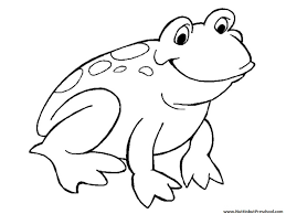 frog coloring pages vitlt