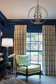 Navy And Green Curtains Navy Blue Nursery With Beige And Blue Sailboard Print Curtains