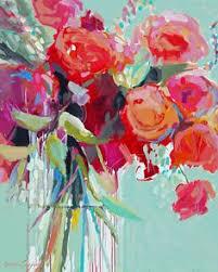 windswept peonies flower paintings by nancy medina art oil www