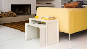 Yellow Side Table 621 Table Vitsœ