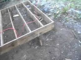 diy how to build deck using deck blocks no dig youtube